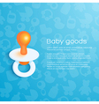 Childrens Background vector image