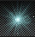lighting spark vector image