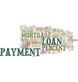 loans explained text background word cloud concept vector image