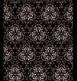 golden luxury seamless pattern vector image