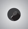 Tennis symbol flat vector image