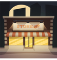 Cartoon Store vector image