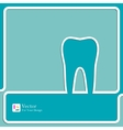 Symbol for dental clinic vector image vector image