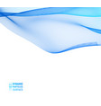 abstract of waves with vector image