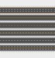 horizontal asphalt roads vector image