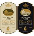 Label for olive oil Made in Italy vector image vector image
