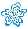 Flower pictogram vector image
