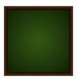 isolated empty chalkboard vector image