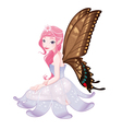 Young fairy vector image