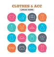 Clothes and accessories Underwear maternity vector image