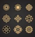 Thai art element for design vector image