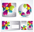 corporate Identity template vector image vector image