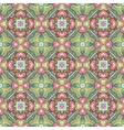 Abstract festive colorful floral pattern vector image