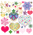 Set colorful design element vector image vector image