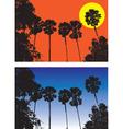 sugar palm vector image