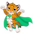 Super Tiger vector image