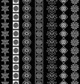 line border set vector image