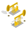 Oil Pump Energy Industrial vector image