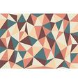 Soft Retro Triangles Background vector image