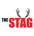 stag vector image vector image