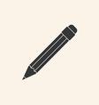 Icon of pencil vector image