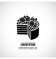 Dessert cakes bakery logo vector image