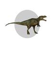 tyrannosaurus vector image