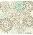 seamless lacy pattern vector image vector image
