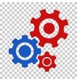 Gear Mechanism Icon vector image