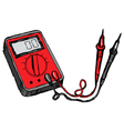 multimeter vector image