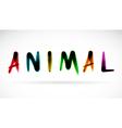 Animal character vector image vector image