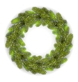 Detailed Christmas Wreath vector image
