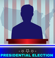 Usa Presidential Election Candidate vector image