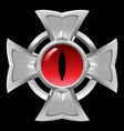 amulet dragon eye vector image vector image