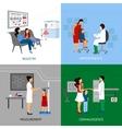 Pediatrician Design Concept vector image