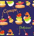 canape set designer seamless print pattern vector image