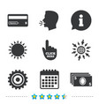 atm cash machine withdrawal icons vector image