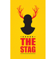 stag vector image