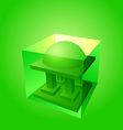 islamic logo element vector image vector image