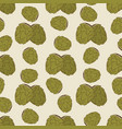 green hop seamless pattern design - vintage vector image