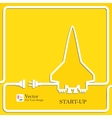 Start Up New Project symbol vector image vector image