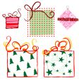 ornaments-gifts vector image vector image