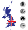 United Kingdom Flag vector image