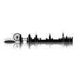 Skyline London city vector image