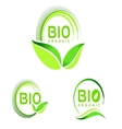Bio Eco Logo Eco icon design vector image