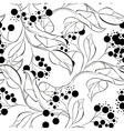 seamless wallpaper tree branches vector image
