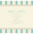 Save Date vector image