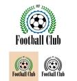 Football Club tetro emblem vector image vector image