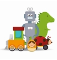 cute toys design vector image