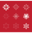 snowflakes iv001 vector image
